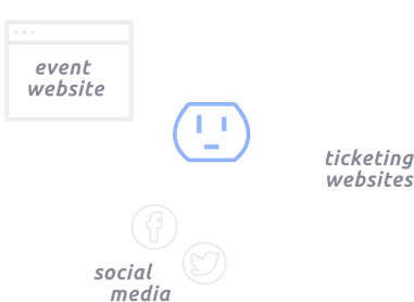 Reachsocket gathers first-party data on audiences from event websites, ticket pages, and social media.